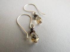 Petite Gold Swarovski Crystal Earrings