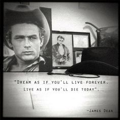 Discover and share James Dean Quotes. Explore our collection of motivational and famous quotes by authors you know and love. Some Quotes, Words Quotes, Wise Words, Quotes To Live By, Sayings, James Dean Quotes, Men Are Men, Jimmy Dean, Film Books