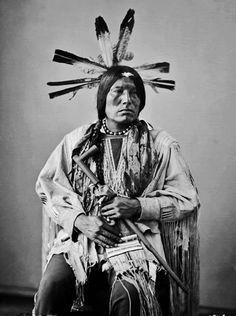 Yanktonai Chief Eagle Man 1872