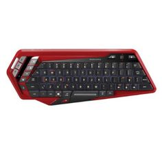 TECLADO MAD CATZ S.T.R.I.K.E. M BLUETOOTH ROJO photo
