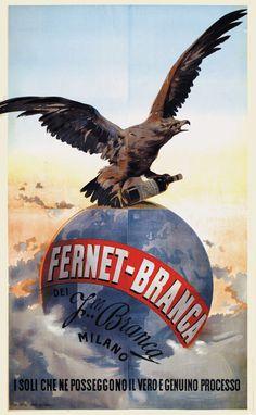 Fernet-Branca - Milano - 1900 -