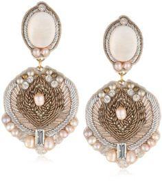 Amazon.com: Ranjana Khan The Ophelia Royale Earrings: Jewelry