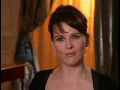 Conversation With Juliette Binoche On Kieslowski - https://www.youtube.com/watch?v=ZAMI3MdZ8-o