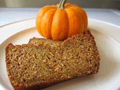 Incredibly Moist Organic Pumpkin Bread Recipe - Whole Lifestyle Nutrition | Organic Recipes | Holistic Recipes