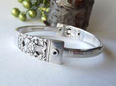 Spoon Handle Silverware Bracelet - Silverware Jewelry