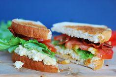Call Me Fudge: Egg Salad BLT