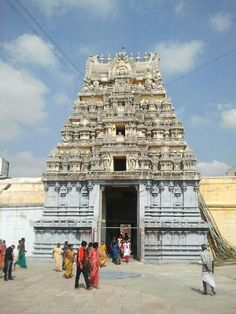 Kanchipuram - The Kamakshi Amman Temple