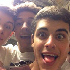 Jack Gilinsky, Cameron Dallas, Shawn Mendes. BOYS