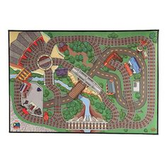 Introducing our Thomas and Friends Wooden Railway Felt Playmat! Your little engineer can use this durable surface to take Thomas on unlimited adventures! Use your favourite Thomas and Friends Wooden Railway Engine to explore the Island of Sodor on a flat surface, or use the felt mat as a back drop for lay outs.