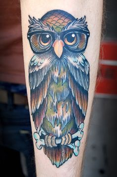 owl tattoo (26)