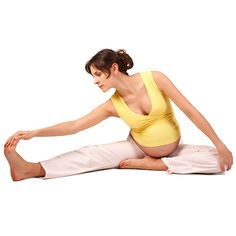 Do these stretches for pregnancy exercise in the third trimester to alleviate the discomforts of pregnancy, prep for labor, and help you sleep better.