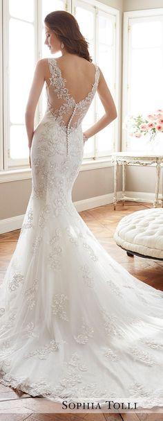 Wedding Dresses:   Illustration   Description   Wedding Dress by Sophia Tolli Spring 2017 Bridal Collection    -Read More –   - #WeddingDresses https://adlmag.net/2017/12/23/wedding-dresses-inspiration-wedding-dress-by-sophia-tolli-spring-2017-bridal-collection-14/