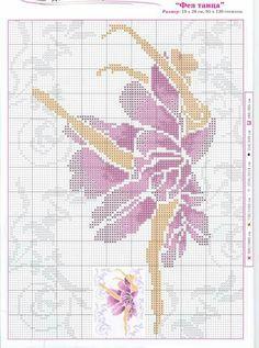 Ballerina x-stitch - iris tutu? Cross Stitching, Cross Stitch Embroidery, Hand Embroidery, Cross Stitch Numbers, Cross Stitch Charts, Modern Cross Stitch Patterns, Cross Stitch Designs, Hand Craft Work, Cross Stitch Silhouette