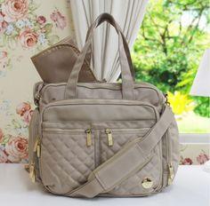 Bolsa Renata - muuito estilo pra quem adora um visual mais descolado e moderninho!  #enxoval #maternidade #pregnant #pregnancy #gravidez
