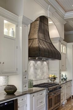 Ah this range hood....#kitchen #antique #country