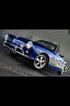 Karmann Ghia convertible Volkswagen Type 3, Volkswagen Karmann Ghia, My Dream Car, Dream Cars, Karmann Ghia Convertible, Vw Classic, Cool Sports Cars, Vw Cars, Sexy Cars