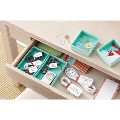The ultimate drawer organization with Martha Stewart Home Office available at Staples!