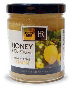 Honey Creme Lemon | Honey Ridge Farms | Gourmet Honey, Balsamic Honey Vinegar, Honey Cremes, Artisanal Honey