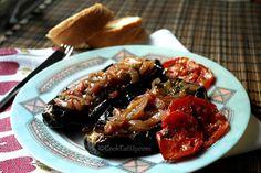 Με φίνο άρωμα Ανατολής, μπαχάρια και μυρωδικά μας ταξιδεύουν στην Πόλη για να απολαύσουμε ένα απίστευτης έντασης γευστικό πιάτο! Greek Cooking, Vegetarian Cooking, Vegetarian Recipes, Healthy Recipes, Cookbook Recipes, Cooking Recipes, Cooking Food, Vegetable Dishes, No Cook Meals