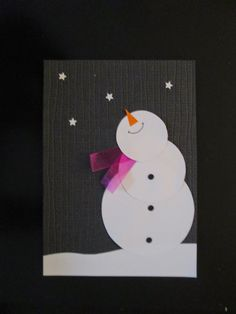 Simply click the link to find out more Homemade Christmas Card Ideas Cas Christmas Cards, Company Christmas Cards, Christmas Card Crafts, Homemade Christmas Cards, Noel Christmas, Homemade Cards, Holiday Cards, Diy Snowman Decorations, Theme Noel