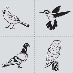 ® is a street art inspired brand founded by artist, painter, graphic designer, DIY enthusiast Ed Roth. Collections include 12 x 12 stencils in large. Bird Stencil, Stencil Wood, Stencil Diy, Stencils, Nifty Crafts, Dove Bird, Creative Art, Folk Art, Art Projects