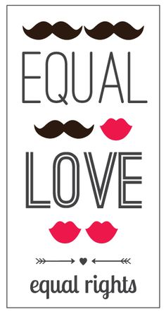 equal love, equal rights by Mythunderstorm