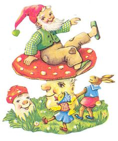 gnome on toadstool - Google Search