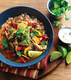 Clean Eating Magazine: Mexican-Style Chicken Soup