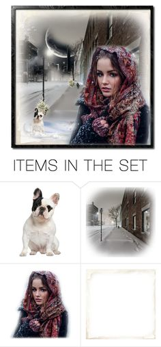 """Wintercity"" by nanni33 ❤ liked on Polyvore featuring art"
