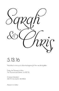 Free wedding invitation suite downloadable template