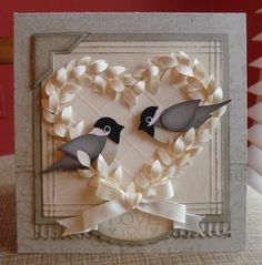 @Jackie Tucker and @Luci Donaldson Smith look at this blog with multiple ideas for 2-step bird punch from Stampin' Up!