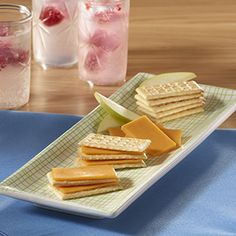 These delicious Club® Crackers Snacks, with a simple slice of cheese, are a snack everyone in the family is sure to love.
