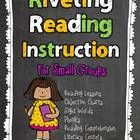 This is a comprehensive reading instruction unit that consists of 6 units combined!    1.  Reading Instruction Anchor Charts pgs.3-36  Post your re...
