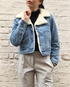 Denim jacket. www.liketk.it/1UIGo