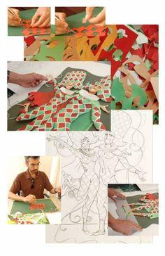 Картины из бумаги от Карлоса Мейра - Разное (творчество) - ТВОРЧЕСТВО РУК - Каталог статей - ЛИНИИ ЖИЗНИ