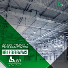 Save maintenance time and energy over conventional HID and fluorescent lighting and install IB lED at your industries at Zero Cost. Contact Us at http://www.indiabullsled.com/connect-us/