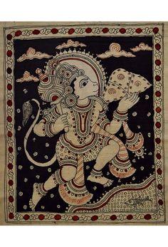 Kalamkari - Hanuman