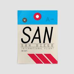 SAN - San Diego Airport - San Diego - California 35ee93440409d