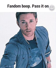 "spnscrapbookblog: ""You heard it, pass on! :) """