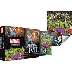 [Sub] Box - Marvel: Guerra Civil e Guerras Secretas + Pôster = R$ 24,90