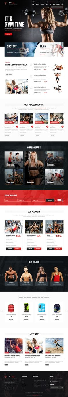 FitLab is a Bootstrap HTML template for health, sports, gym and #fitness #websites. Its comes in 2 Homepage Style. Download Now➝  http://themeforest.net/item/fitlab-sports-health-gym-fitness-html-template/15802301?ref=Datasata