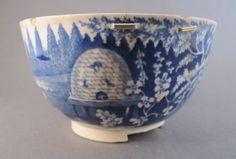 Beehive pattern bowl, c. 1820