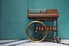 The Baron Bar Cart | Gessato Blog
