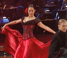 Ballroom dress from DWTS - Paso Doble Season 7