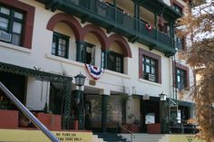 Copper Queen Hotel, Bisbee, Arizona: The spirit of the still alluring, flirtatious prostitute Miss Julia Lowell mostly haunts the west side of the building on the third floor and rooms, especially Room 315, though she occasionally is seen in other spots in the hotel. The spirit of Billy, a young 8 or 9 year old boy likes to play on the third floor and the dining room of the hotel. He is a bit of a rascal who likes to hide various items belonging to the guests, who stay in the hotel rooms…