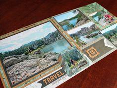 Sylvan Lake Trail Scrapbook Page - Custer State Park - 12x12 Layout - South Dakota Road Trip