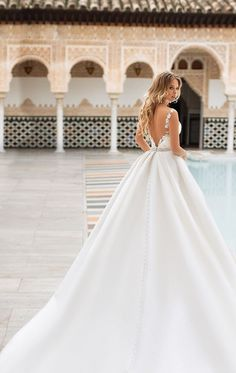 Naviblue Bridal 2018 Wedding Dresses – Dolly Bridal Collection – I Take You Western Wedding Dresses, Sexy Wedding Dresses, Princess Wedding Dresses, Bridal Dresses, Wedding Gowns, Ball Dresses, Ball Gowns, Prom Dresses, Weeding Dress