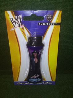 Wwe The UNDERTAKER Wrestling LIGHTER RARE Collectible Nulite Electronic Refillable Lighter by TheWrestlingBurn on Etsy