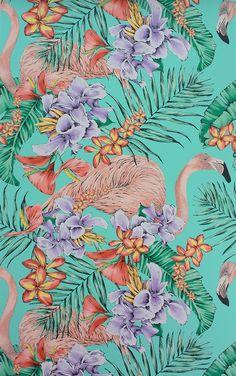 'Flamingo Club' By Matthew Williamson at Osborne & Little: W6800-01. Flamingos!!!!!!!