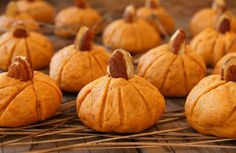 adorable > Pumpkin Almond Cookies for Halloween and Thanksgiving